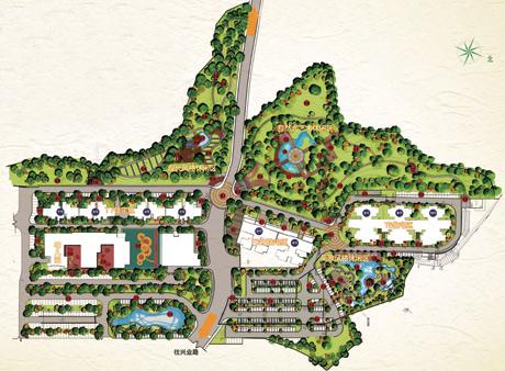 海南凤城小区概念性规划